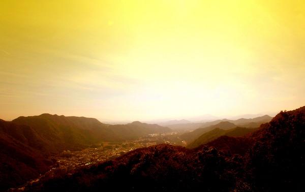 49鬼怒川温泉ロープウェイ頂上より.JPG